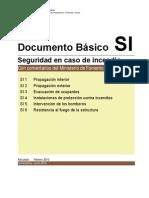 2012 Documento Basico Seguridad en Caso de Incendios Con Comentarios Del Ministerio de Fomento Version Junio 2012