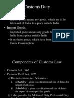 Indirect Tax - Customs Duty