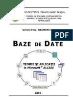 SGBD Access Curs 2005