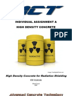 High Density Concrete