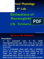 4-Hb. Estimation