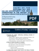 McCLUSKEY SEMINAR (Version for Dissemination)
