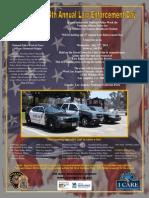 2013 Law Enforcement Career Day Flyer - I Care
