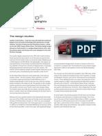 Audi Design Studies
