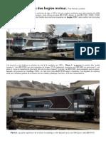Modélisme ferroviaire à l'échelle HO. Un aperçu des bogies moteur. Par Hervé Leclère