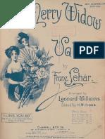IMSLP10270-Lehar - Merry Widow Valse Williams