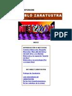 """Así habló Zaratustra"" de Friedrich Nietzsche"