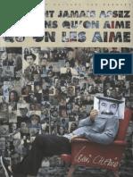 Louis Chedid on Ne Dit Jamais Assez Aux Gens Qu'on Aime Qu'on Les Aime-(FR-PVGT)