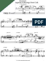 IMSLP12632-Bartok - Sz.35a - 3 Hungarian Folksongs From Csik