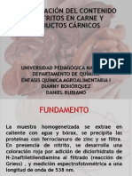 Determinacion Del Contenido de Nitritos en Carne [Repaired]