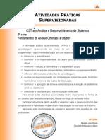 ATPS 2013 1 CST ADS 3 Fundamentos Analise Orientada Objetos