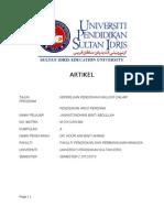 Artikel Kajian Tindakan-Jannatonshima Abdullah
