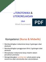 UTEROTONIKA & UTERORELAKSAN