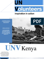 UNV Kenya Newsletter March 2013, Special Edition