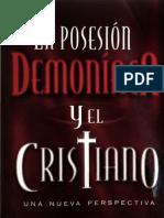 c. Fred Dickason La Posesion Demoniaca y El Cristiano