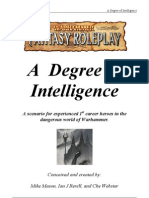 A Degree of Intelligence