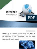 Internet Hisoria Evolucion Recursos