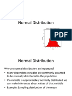 Binomial Normal Distribution