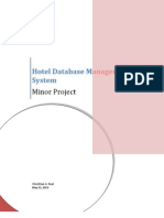 Data Flow Diagram Of Hotel Management System Databases Software