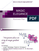 MAGIC ELEGANCE Plan de Afacere 2013
