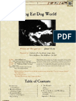 A dog eat dog world
