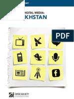 Mapping Digital Media Kazakhstan