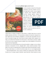 Analiza unui print publicitar după modelul bicefal