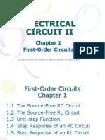 Chapter 1 Slide 1st Order Circuit