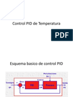 Control PID Temperatura