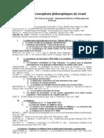 19436090 Histoire Des Conceptions Philosophiques Du Vivant Plan l3
