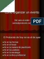 Cmo Organizar Un Evento2132 111017224701 Phpapp02