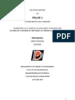 Report on Desiging company