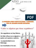 MÓDULO 3. LA ORATORIA COMO FUENTE DE PODER Y LIDERAZGO