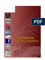 Abecedar Cad 2D în Ubuntu