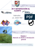Atencion y Satisfac c Ional Client e