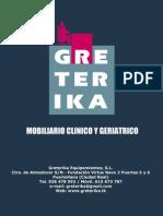 Catálogo Greterika Mobiliario Clinico