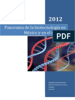 Panorama de La Biotecnologia