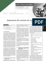 AE 276 - Importancia Del Contrato de Compra y Venta Internacional
