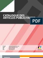 Catalogue 2013 - Articles Publicitaires - Imprimos