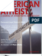 American Atheist Magazine Fourth Quarter 2011
