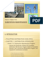 Substation Maintenance