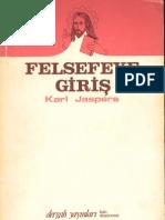 Karl Jaspers Felsefeye Giriş