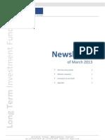 201303 LTIF Newsletter