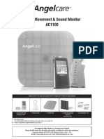 Angelcare Instruction Manual AC1100