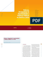 Pobreza y Desigualdad en El Peru PDF