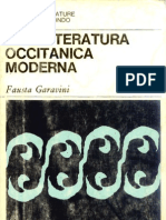 80911205 La Letteratura Occitanica Moderna Fausta Garavini Sansoni Accademia 1970