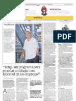 Entrevista a Juan Arapovic, profesor de la UARM, por el Comercio