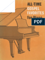 All Time Gospel Favorites for Piano