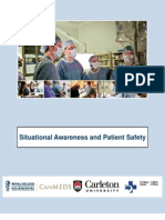 Must Read Situational Awareness and Patient Safety