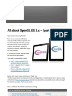 All about OpenGL ES 2.x – (part 2_3)